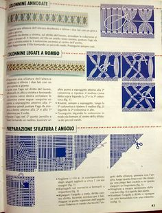 """Photo from album """"Учимся вышивать"""" on Yandex. Types Of Embroidery Stitches, Embroidery Needles, Embroidery Patterns, Hardanger Embroidery, Ribbon Embroidery, Cross Stitch Embroidery, Drawn Thread, Sewing Basics, Weaving Techniques"""