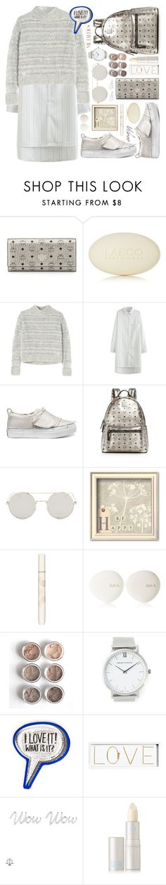 """metallic winter to spring transition"" by ssennii ❤ liked on Polyvore featuring MCM, LAFCO, Rebecca Taylor, Calvin Klein, Paul & Joe, lilah b., Larsson & Jennings, Anya Hindmarch, Oliver Gal Artist Co. and SOPHIE by SOPHIE"