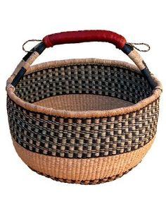 Market Basket  /  I love mine....if it looses shape, just wet it & reshape it. it will last forever!