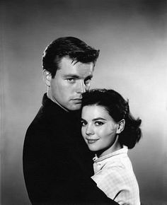 Robert Wagner and Natalie Wood, 1957