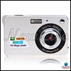 Amkov 2.7'' LCD 4X Zoom Digital 16.0 MP Câmera Digital 34,99€
