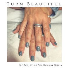 Bio Sculpture Gel Nails by our therapist Olivia. Soaring Dove and Duchess as the feature nails We are starting to get booked up for September! So get your appointments booked in . Bio Sculpture Gel Nails, Gel Extensions, Beauty Clinic, Vegan Beauty, Nail Tech, Appointments, Brighton, Class Ring, September