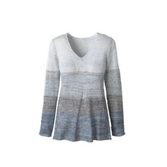 Coldwater Creek Marled pullover blue sweater - like?  $17.99