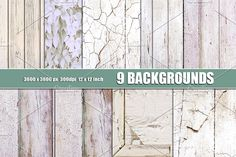 WHITE WOOD WALL TEXTURE OVERLAYS by Area on @creativemarket