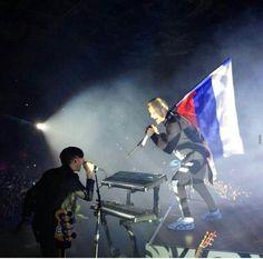 @JaredLeto w/ @Stevie_Music #MarsInRussia #lovelustRussia #LoveLustTour