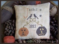 """PRIMITIVE STITCHIN' """"Jacks and Crows"""" 