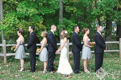 NJ Wedding Photography | Fun bridal party pose