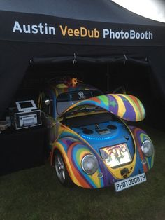 for hire is our custom designed classic veedub photobooth supplied with an fun array of