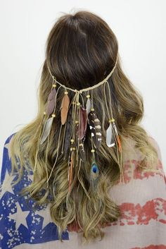 Boho Boutique Feather Headband - GoGetGlam