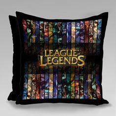League Of Legends, Baby Room, Lol, Throw Pillows, Oxford, Boyfriend Gifts, Dating Anniversary, Personalized Pillows, Creativity