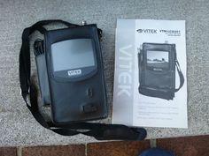 """Vitek VTM-LCD351 LCD Service Monitor 3.5"""" Screen w/ Manual Case Strap #Vitek"""
