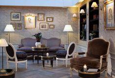 Hôtel de Buci, one of our favourite hotels in the Latin Quarter of Paris...