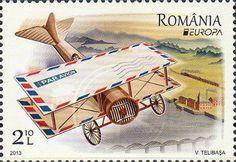 europa stamps: Romania 2013