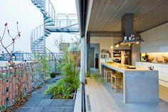 Family Kitchen, Facade, Villa, Patio, Architecture, Outdoor Decor, Plants, House, Inspiration