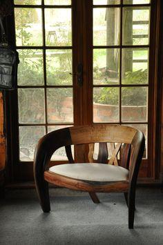 driftwood chair by chris wilson