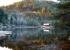 Vinterstemning ved Barsvatnet 2