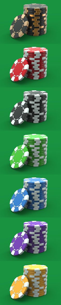 Free 3D Casino Chips | Pixaroma | We extract aroma from pixels.