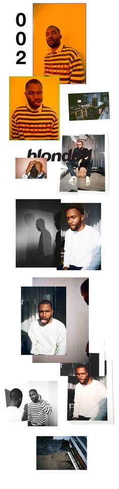 I like the use of visuals and copy here. Frank Ocean, Channel Orange, Rapper, Ocean Wallpaper, Star Sky, Album Covers, Photoshop, Graphic Design, Portrait