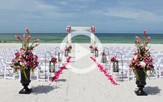 Sarasota Beach Weddings | Florida Beach Weddings | Longboat Key Club