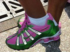 Customized AKA Nike sneakers