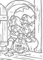 kolorowanki Królewna Śnieżka Disney numer  55