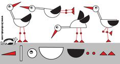 How to Draw a STORK? | krokotak