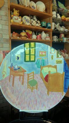 Pastel Mio Korea-customer piece-Gogh painting on pottery  남동생 생일 선물
