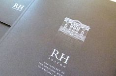 """Brochure elegantly reminds you not to call them """"Restoration Hardware"""" a moment longer..."""