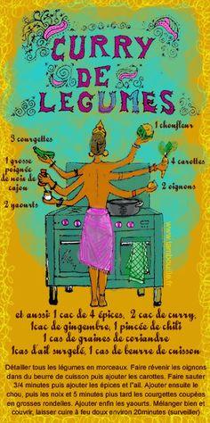 Tambouille» Curry de légumes
