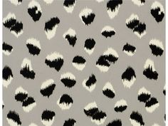 Groundworks FELINE PAPER GREY/BLACK GWP-3306.18 - Lee Jofa New - New York, NY