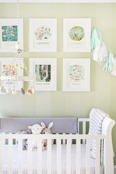 Our Favorite Nurseries Inspired by Jessica Biel's Pregnancy - Style Me Pretty Living