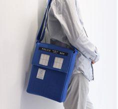 Tardis laptop bag