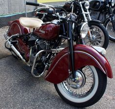'47 Indian Chief  - our 03 still has the same look.  Beautiful Bike
