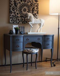 painted furniture - black | white | a colour! — toronto designers
