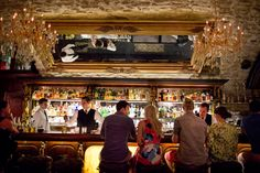 In the capital of a beer-loving nation, cocktail bars are also catching on, offering sophisticated drinks at reasonable prices.