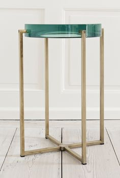 Lens Side Table by McCollin Bryan