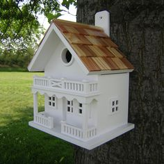 Shop Home Bazaar  HB-9002WS Fledgling Series Chalet Bird House at ATG Stores. Browse our bird houses, all with free shipping and best price guaranteed.