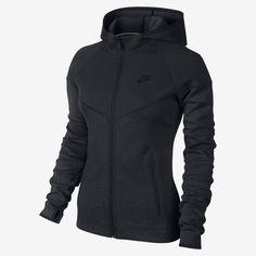 d1beb45802f Nike Tech Fleece Full-Zip Women's Hoodie. Nike Store Nike Korte Broek, Nike