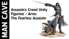 Man Cave: Assassin's Creed Unity Figurine - Arno: The Fearless Assassin