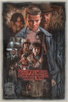 Stranger Things by Jeffherndraw