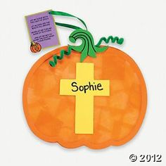 Christian Pumpkin Tissue Paper Craft Kit Decoration Crafts For Kids Hobby Supplies