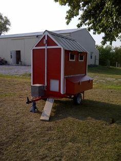 Coop on Wheels - BackYard Chickens Community
