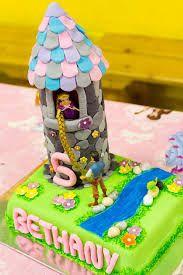 Image result for easy homemade tangled birthday cakes