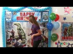 Watch the Avengers Party Ideas video to see easy tips for a superpower–filled Avengers party! Go Super Mom!