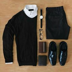 Mode Outfits, Casual Outfits, Men Casual, Fashion Outfits, Smart Casual, Fashion Ideas, Casual Wear, Fashion Tips, Fashion Trends