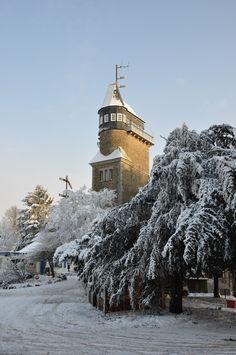 Danzturm, Iserlohn in snow