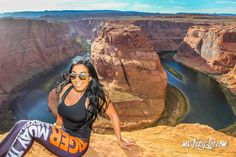 My Whimsical Horseshoe Bend Sunset Adventure! After I went on my spontaneous Balloon Fiesta Adventure, I continued on my whimsical Horseshoe Bend sunset adventure. I had done gone to Page, AZ to se...