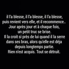 French Words, French Quotes, Sad Day, Lose My Mind, More Than Words, Positive Attitude, Love You So Much, True Quotes, Cool Words
