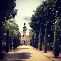 Parque del Retiro - Madrid -Spain
