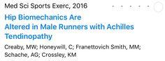 Artigo excelente descrevendo a relação da lesão do tendão de Aquiles em corredores com um mau funcionamento da articulação do quadril. O trabalho fisioterápico na articulação do quadril é fundamental na reabilitação destes corredores